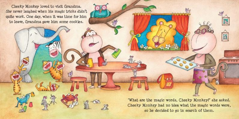 Book Cheeky Monkey Thank you1