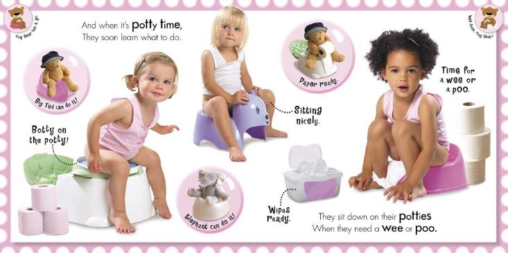 Book Girls Potty Time1