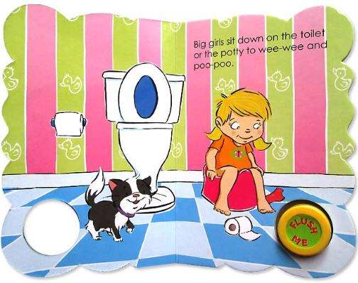 Book Toilet Time for Girls1