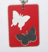Plastic Butterfly Tag1