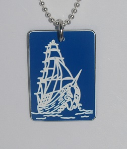 Sailing Ship Pendant