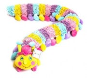 Baby Boo Alphabet Caterpillar with pink hat