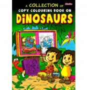 Book - Copy Colouring Dinosaurs