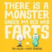 Book - There is a Monster under my bed who farts