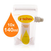 Sinchies - 10-140ml-sinchies-reusable-baby-food-pouch