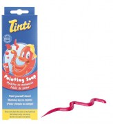 Tinti - painting soap - red