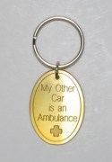 My Other Car is an Ambulance Keyring