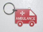 Plastic Ambulance Bag Tag