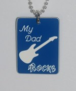 My Dad Rocks Pendant