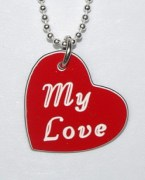 My Love Heart Shaped Pendant