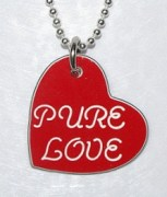 Pure Love Heart Shaped Pendant